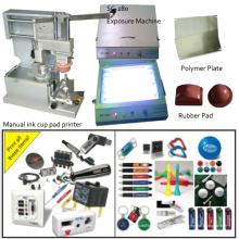 Unicolores lumière Pad Printing Machine à la main