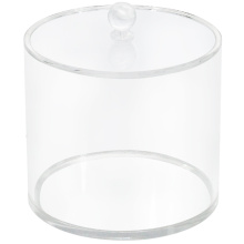 Botes de acrílico redondos transparentes