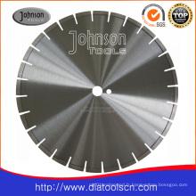 Lame de scie à diamant circulaire de 350 mm: lame de coupe pour béton armé