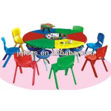 Juego de mesa de plástico barato para niños