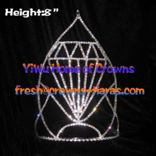 8in Diamond Shaped Pageant Crowns