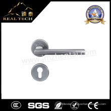 Hot Sale Stainless Steel Door Handles Rosette Solid Lever Handle