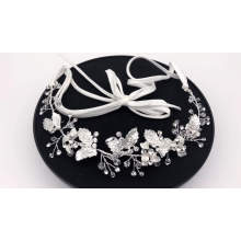 New design handmade exquisite noble bridal hair accessories shiny wedding hair band