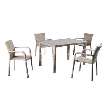 Ensemble de table et chaises de salle à manger d'extérieur 2019