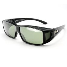 Designer Fashion Polarized Fit Over Sunglasses for Men (14327)