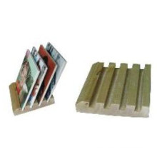 Slotted Oak Coaster Racks