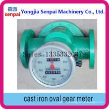 Ogm-I-50/80/100 Medidor de engrenagem oval de ferro fundido