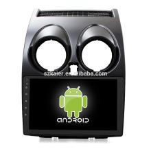 Oktakern! Auto-dvd Android 8.1 für Nissan Qashqai 2008-2014 mit 9 Zoll kapazitivem Schirm / GPS- / Spiegel-Verbindung / DVR / TPMS / OBD2 / WIFI / 4G