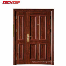 TPS-111 Modern Style Steel Security Building Doors with High Quality