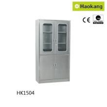 Mobilier d'hôpital pour armoire en acier inoxydable (HK1504)