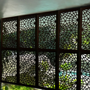 Laser Cut Metal Security Doors & Window