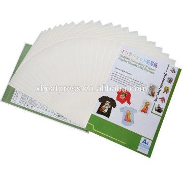 Transfer paper for light fabrics A4
