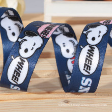 ribbon printed ,sublimation ribbon with words