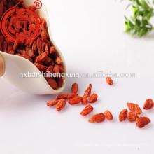 Zhongning Gou qi zi, Wolfberries secos, Matrimony-vine chino, níspero rojo, fruta de la Box-espina, bayas del lobo