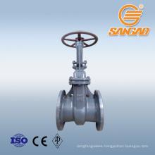 a216 a351 cast steel gate valve pn40 pn25 wcb gate valve ss304