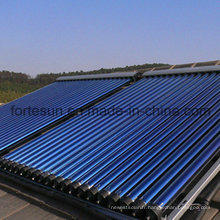 Réchauffeur thermique solaire à solvant thermique à haute pression Heatpipe