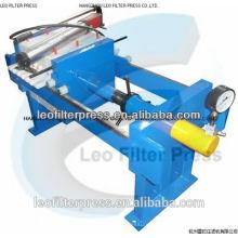Leo Filterpresse Kleine Manual 800 Filterpresse für Labortests