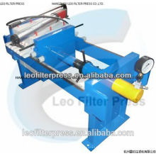 Leo Filter Press Small Size Manual 800 Filter Press for Lab Testing