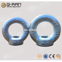 Tuerca del ojo del ancla ojo tuerca anclaje galvanizado DIN582/Rigging