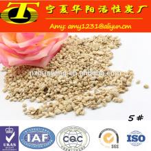 Granulado de espiga de milho para agricultura
