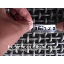Acero de alta resistencia o acero inoxidable 304 316 pantalla de malla de alambre prensado para el tamiz de la mina