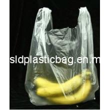 Transparent HDPE T-Shirt Bag