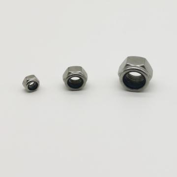 Porcas de segurança de nylon de aço inoxidável grau 304