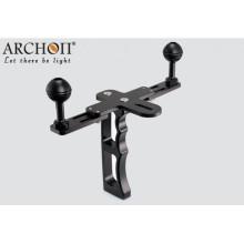 Archon Diving Montage Support de lampe de 1 po de balle pour lampe de poche