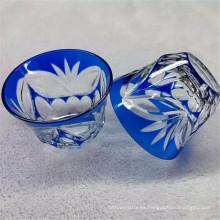 cuenco de cristal pequeño para la decoración