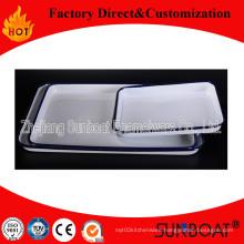 Rectangular Food Plate/Enamel Rectangular Tray/Kitchenware Pan