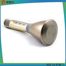 Microfone sem fio Bluetooth para casa KTV festa ao ar livre com alto-falante e gravação de voz
