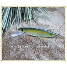 MNL022 7cm 3g Plastic Wholesale Minnow 3D ojos para atraer a la pesca