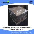 Meropenem de alta pureza con carbonato de sodio estéril
