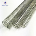 Pure+extrude+Steel+Wire+food+grade+PVC+hose