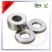 N35 D26d16H1 zn coating ring industrial ndfeb magnets