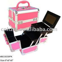 Aluminum makeup case