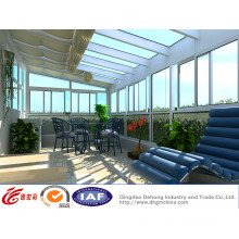 UPVC Alumínio Doméstico Glass Sunlight Room