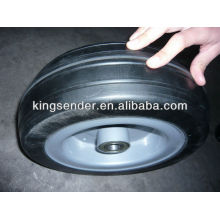 """12"""" solid rubber wheel"""