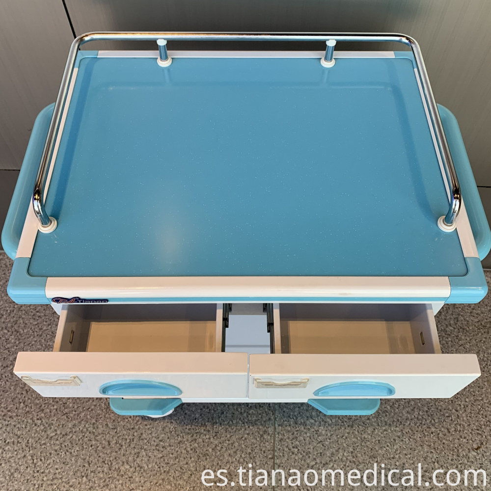 Hospital Artistic I.V. Trolley Cart