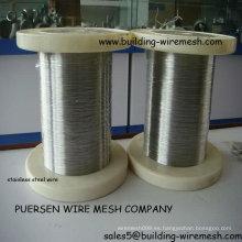 304 alambre de acero inoxidable 1,25 mm