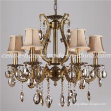 Luxury Design Crystal Lighting Iron Chandelier Lamp (SL2116-6)