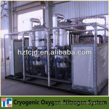 Planta criogénica de oxígeno líquido