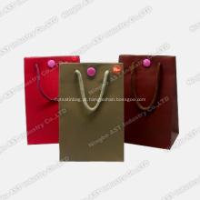 Music Gift Bag, saco de papel de gravação, saco de papel, saco de presente