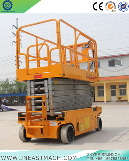 Auto Self Propelled Hydraulic Mobile Platform Scissor Lift