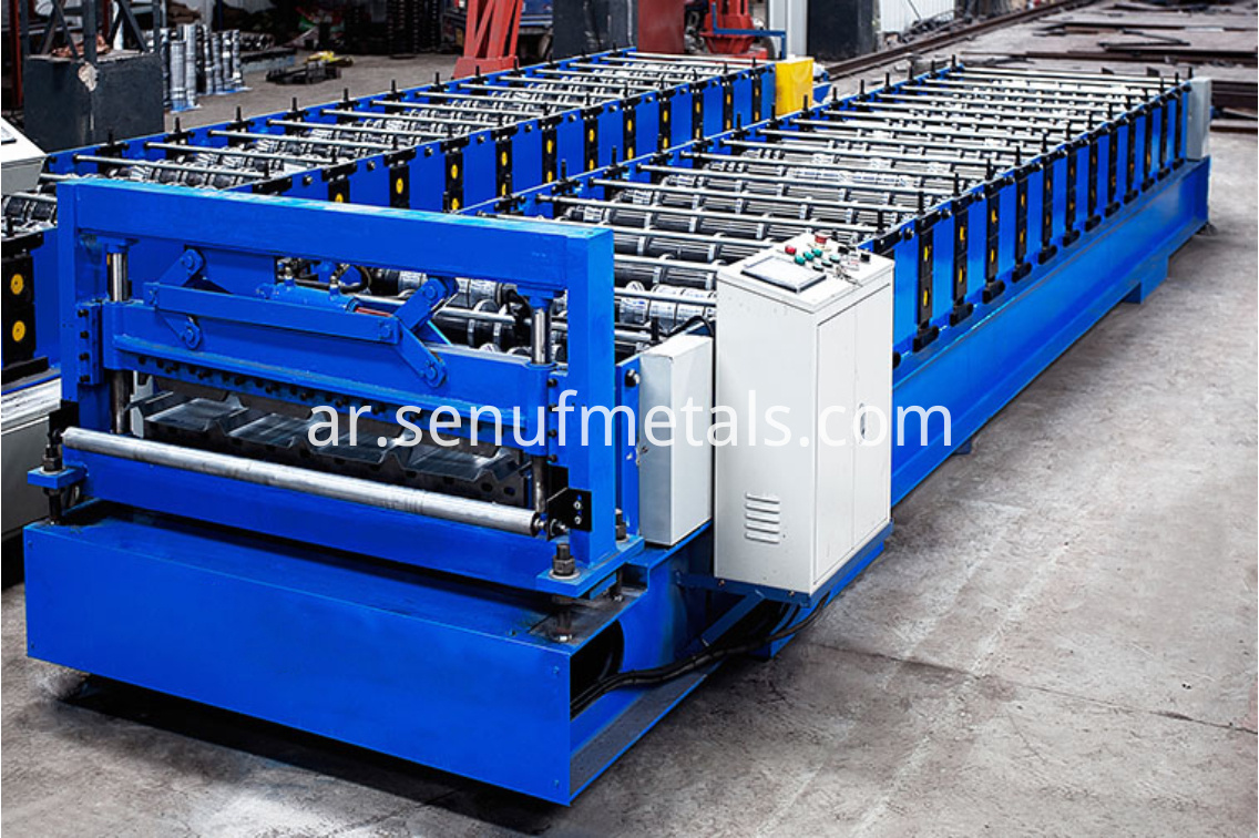 IBR roofing machine