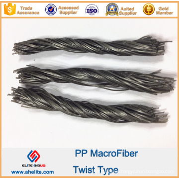 Anti-Crack Fiber PP Twist Fiber Similar to Forta Ferro Macrofiber