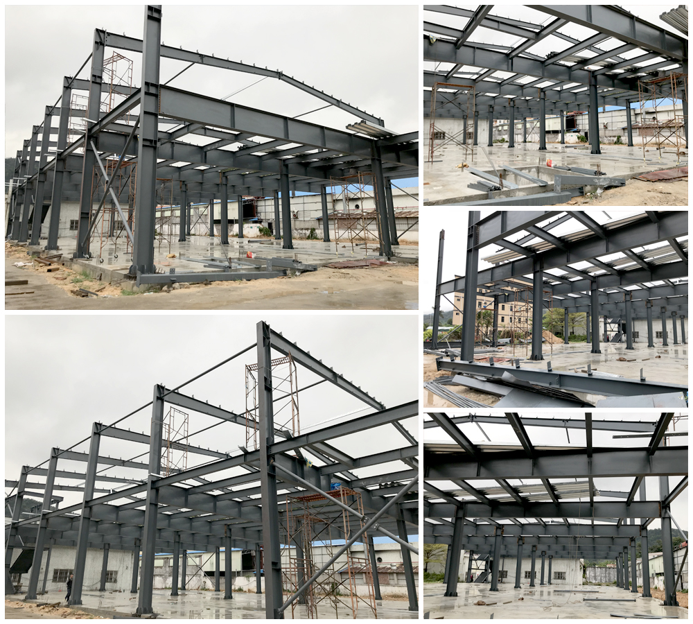 2 Story Steel Structure