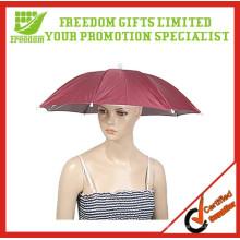 Promotional Cheap Logo Custom Umbrella Hats For Sale