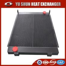 Fabricante de barra de aluminio soldado y placa radiador de aceite hidráulico