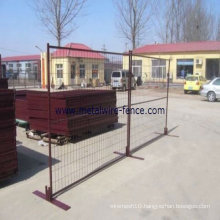 ISO9001 and CE certificates temporary safety fence